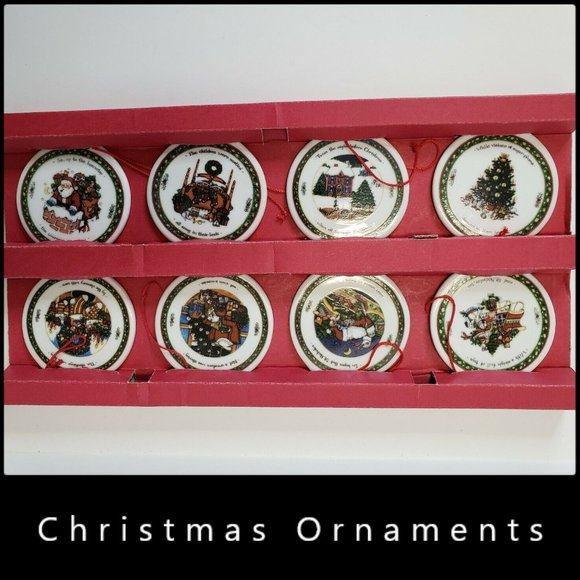 Other - Fine Porcelain Christmas Holiday Ornament